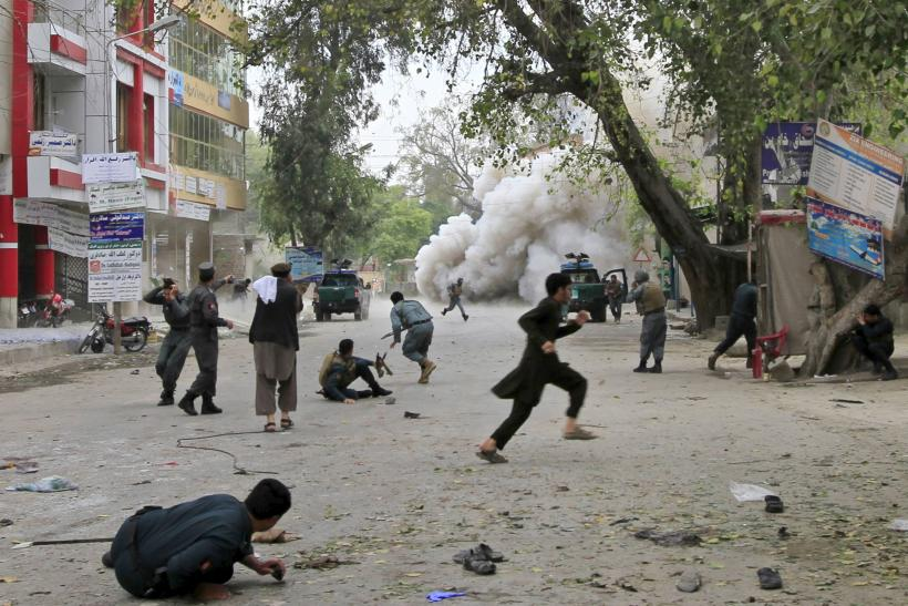 Dozens Killed In Afghanistan Blasts