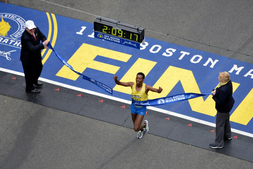 Lelisa Desisa Boston Marathon