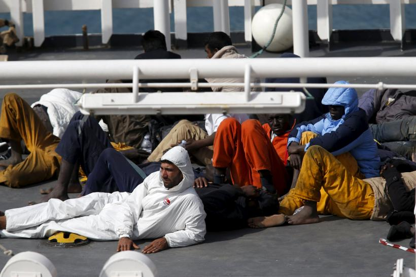 70 Afghan, Iraqi Migrants Rescued By Italy's Coast Guard