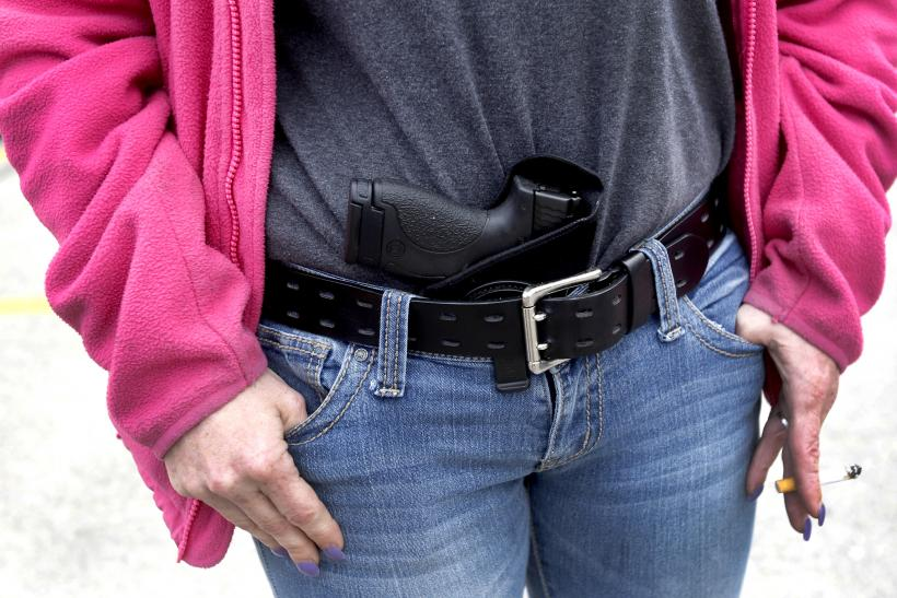 Texas House Approves Open Carry Of Handguns Bill