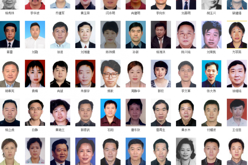 China financial fugitives