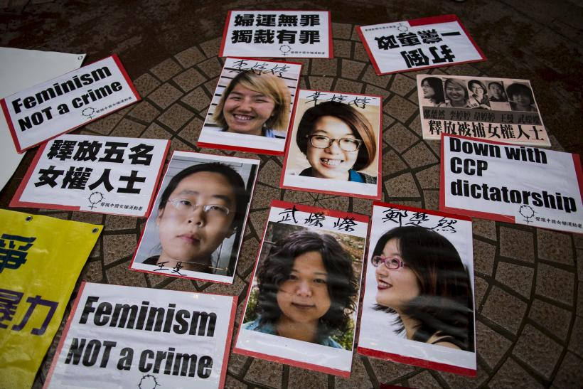 Chinese Woman Activist Says Interrogated A Week After Release