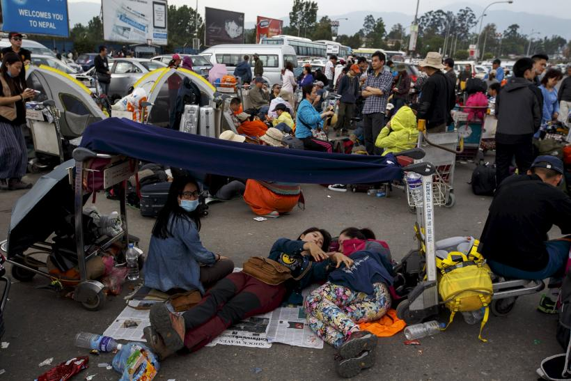Pandemonium At Nepal's Airports