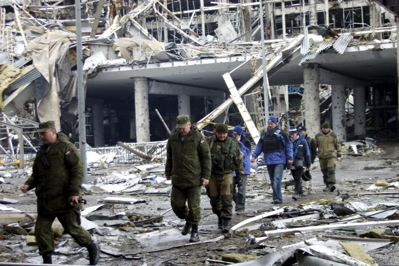 Shelling In Eastern Ukraine Puts Fragile Ceasefire At Risk