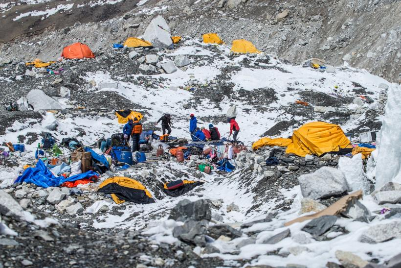 Mount everest south base camp