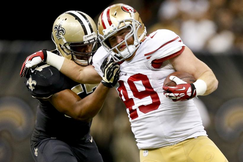 49ers Fullback Bruce Miller Charged With Vandalism