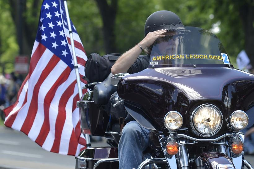 Memorial Day Motorcycle