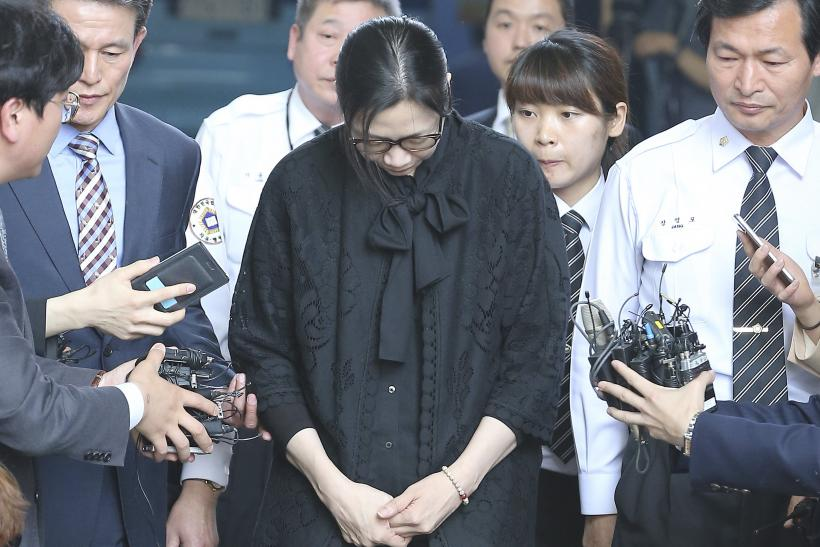 Korean Air 'Nut Rage' Executive Gets Suspended Sentence