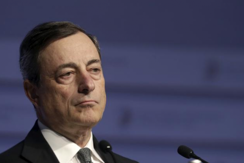 European Central Bank President Mario Draghi, April 24, 2015
