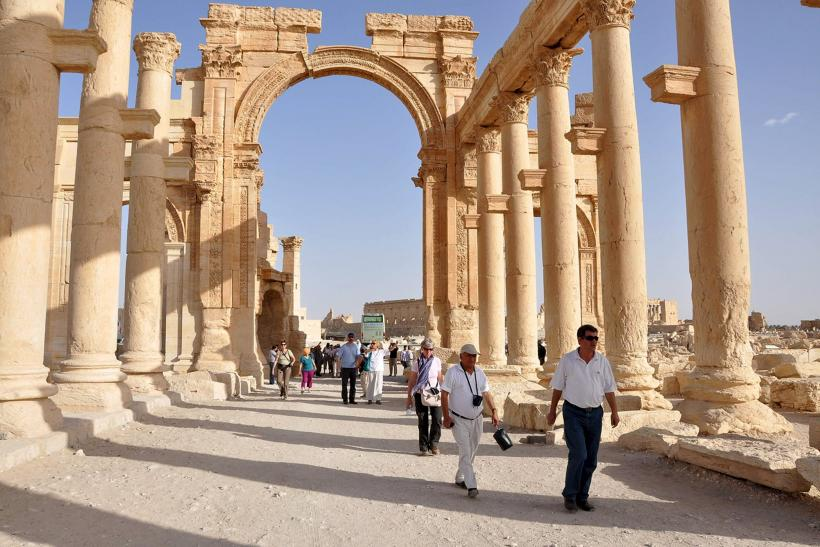 ISIS Raises Flag Over Citadel In Syria's Palmyra