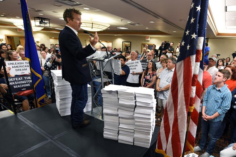 Rand Paul Campaigns In Las Vegas