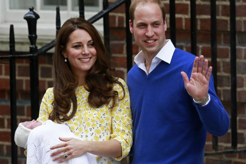 Princess Charlotte godparents
