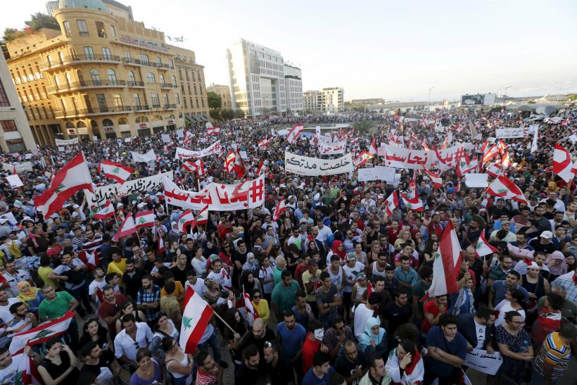 Lebanon Beirut protests