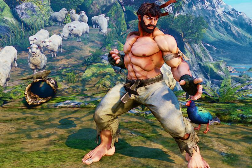 Shirtless Ryu Street Fighter V