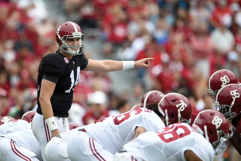 Jake Coker Alabama 2015