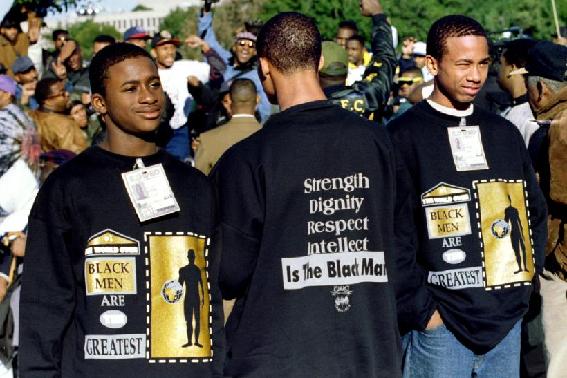 million man march black men