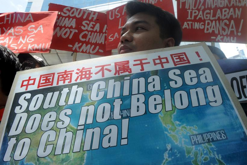 South China Sea protest