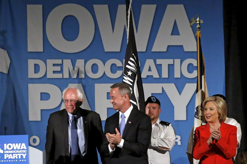 Democrat Presidential Nominees Lineup Iowa Democratic Party's Hall of Fame dinner