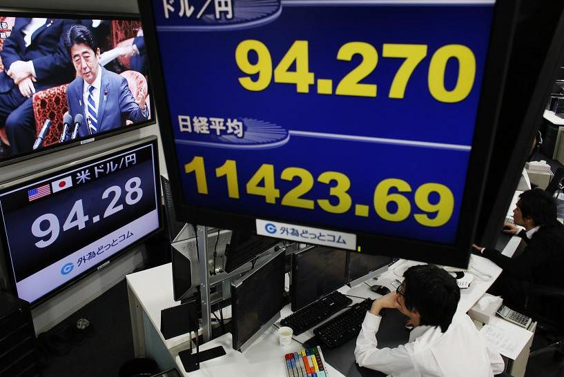 Why Japan's Yen Is Sinking And Its Stock Market Is Soaring, So Far It's Not A 'Currency War'