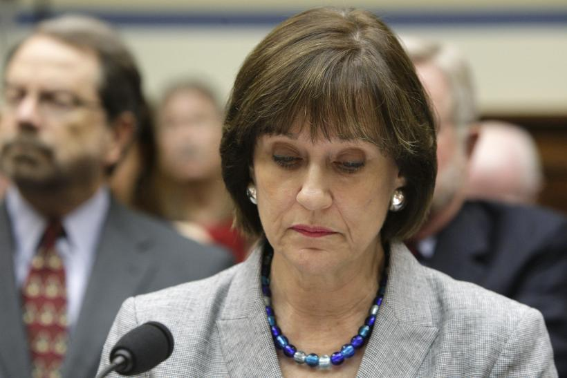 IRS Lois Lerner Wash DC May 2013