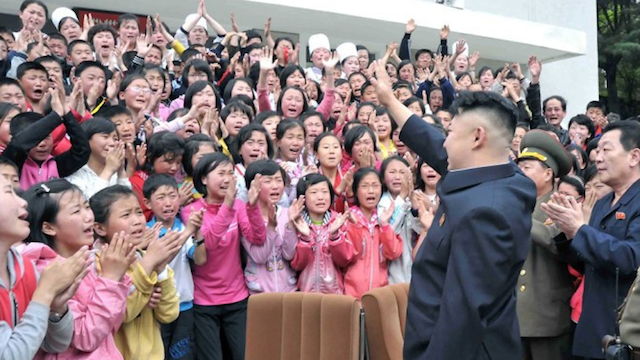 Kim Jong-Un And Wife Visit Children's Camp, Kids Cry Hysterically [PHOTOS]