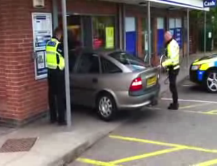 Mayor Terry Buckle, Former UK Driving Instructor, Crashes Car Into Edmundsbury Tesco [VIDEO]